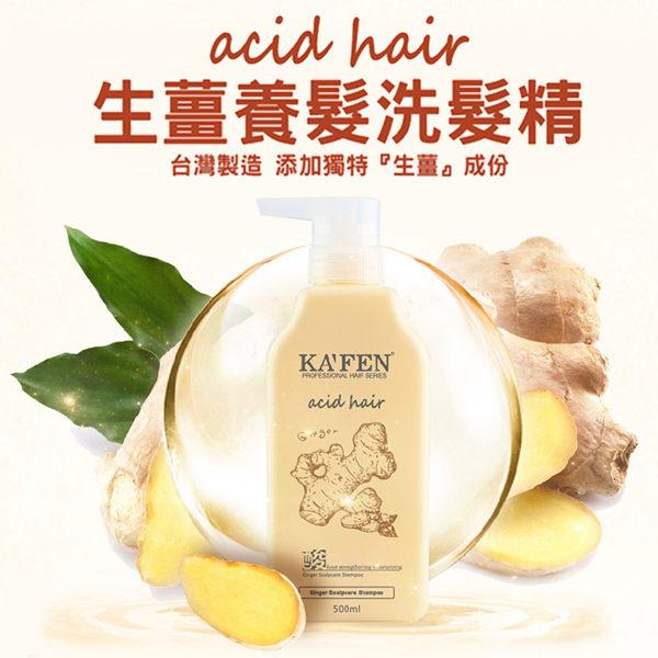 亞希朵生薑洗髮精500ml – 滋潤頭皮 強健髮根